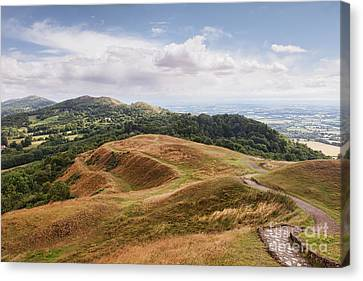 Malvern Hills Canvas Print by Colin and Linda McKie