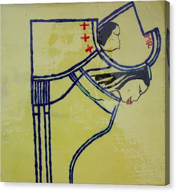 Mama India - Ma India Canvas Print by Gloria Ssali