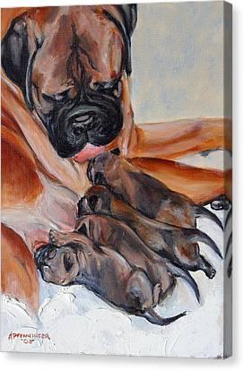 Mama Love Canvas Print