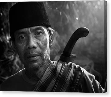 Mamang Nya Nico Canvas Print by Andre Arment
