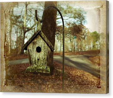 Mamaw's Birdhouse Canvas Print by Steven Michael