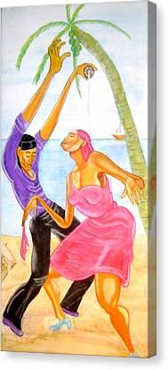 Haiti Canvas Print - Mambo Dancing by Neg Ayiti