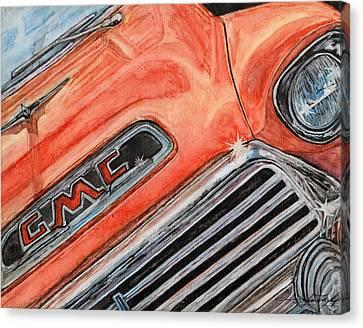 Custom Ford Canvas Print - Man Cave #1 by Jason McKeel