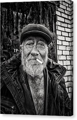 Canvas Print featuring the photograph Man Of Freedom by John Williams