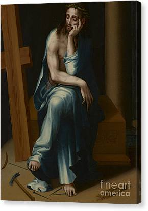 Man Of Sorrows Canvas Print