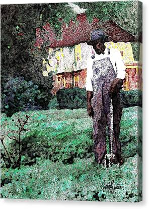 Man Of The House Canvas Print