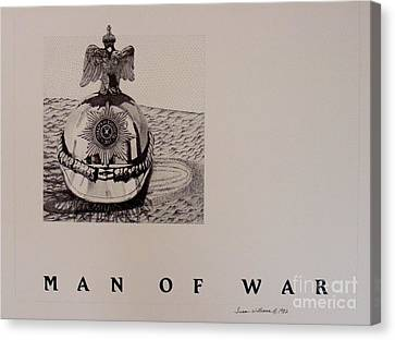 Man Of War Canvas Print