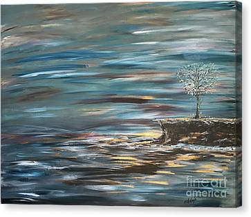 Man Overboard Part Two Canvas Print by Heather McKenzie