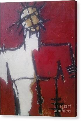 man Canvas Print by Ramesh Babu