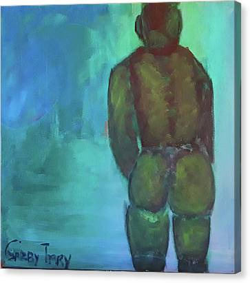 Man Shape Canvas Print