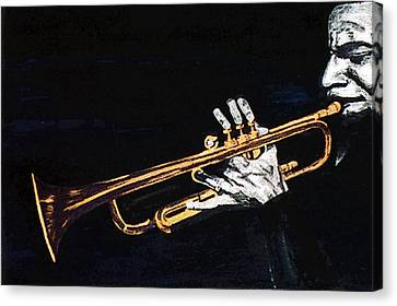 Man With The Horn -  Skip Martin   Canvas Print