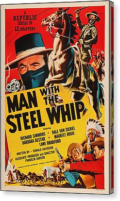 Man With The Steel Whip 1954 Canvas Print by Mountain Dreams