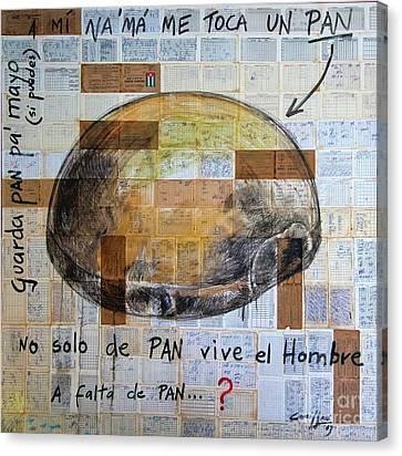 Mana' Cubano Canvas Print by Jorge L Martinez Camilleri