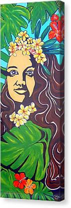 Mana Olana  Means Hope Canvas Print by Cheryl Ehlers