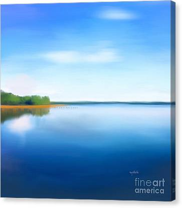 Manasquan Reservoir Canvas Print