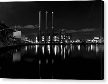 Manchester Street Power Station Canvas Print