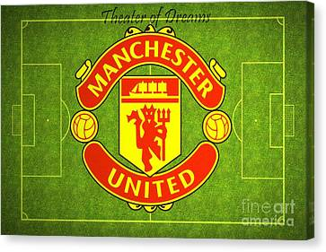 Manchester United Theater Of Dreams Large Canvas Art, Canvas Print, Large Art, Large Wall Decor Canvas Print