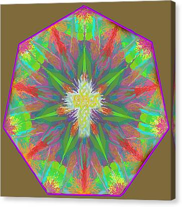 Mandala 1 1 2016 Canvas Print