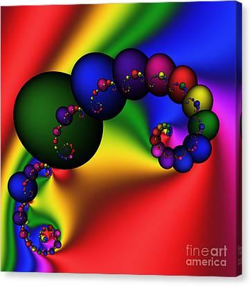 Mandala 155 Canvas Print by Rolf Bertram
