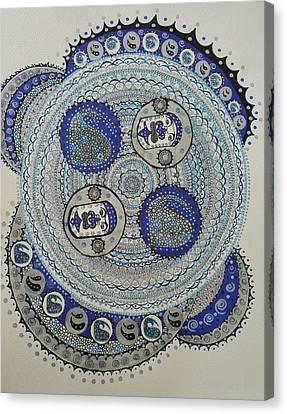 Tiki Canvas Print - Mandala 2 by Annarine Chapman