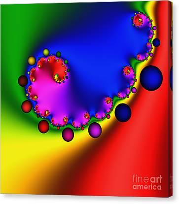 Mandala 208 Canvas Print by Rolf Bertram