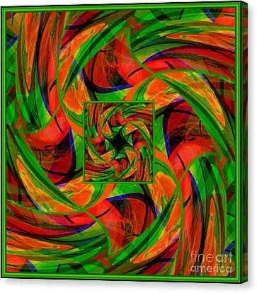 Mandala #36 Canvas Print