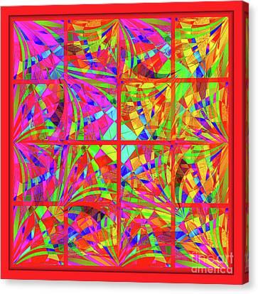 Mandala #48 Canvas Print