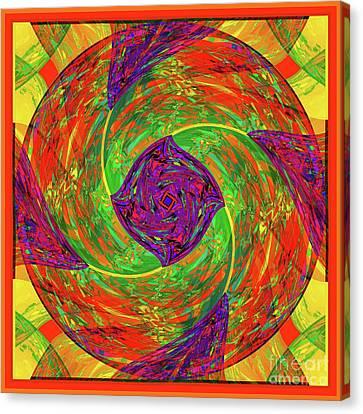 Mandala #55 Canvas Print