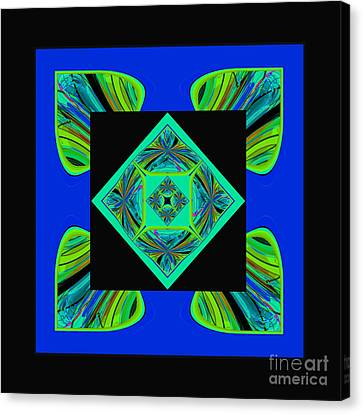 Mandala #6 Canvas Print