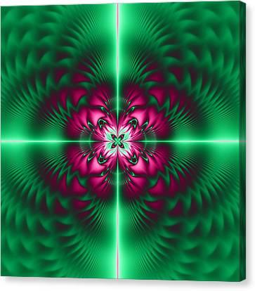 Mandala 7 Canvas Print by Sfinga Sfinga