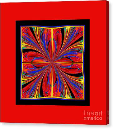 Mandala #8 Canvas Print