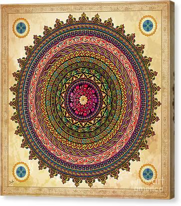 Mandala Armenian Decorative Art Canvas Print