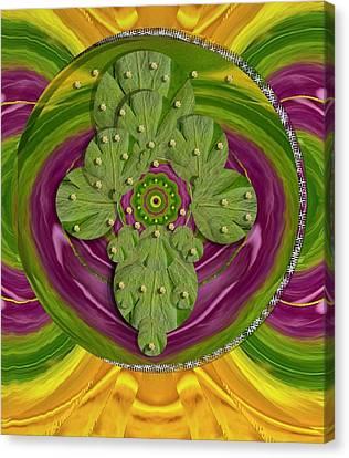 Mandala Art Canvas Print by Pepita Selles