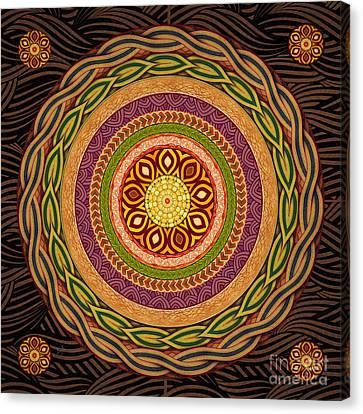 Mandala Embrace Canvas Print