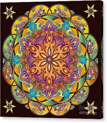 Mandala Exotica Canvas Print