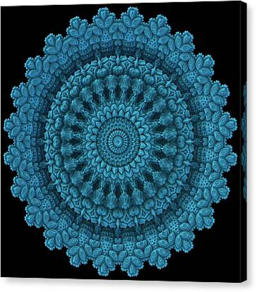 Canvas Print featuring the digital art Mandala For The Masses by Lyle Hatch