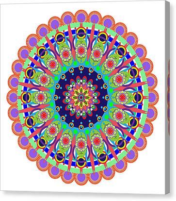 Mandala Canvas Print by Isabel Salvador