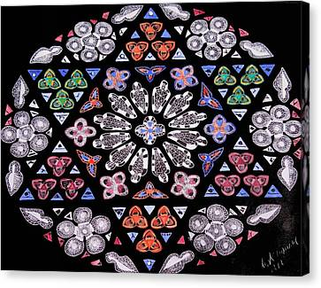 Mandala Of Hope Phase 2 Canvas Print