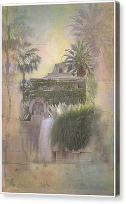 Mandalay Bay Canvas Print by Christina Lihani