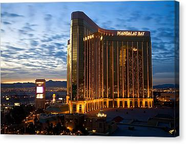 Mandalay Bay Sunrise Canvas Print by James Marvin Phelps