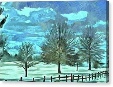 Mandisa Canvas Print by Trish Tritz