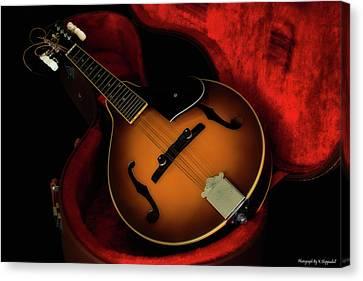 Mandolin Guitar 66661 Canvas Print