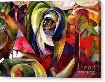 Mandrill Canvas Print by Franz Marc