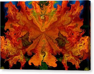 Mango Mesh Canvas Print