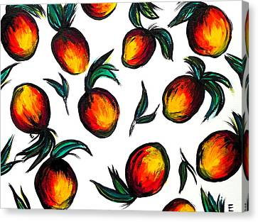Mangos Canvas Print by Erica Seckinger