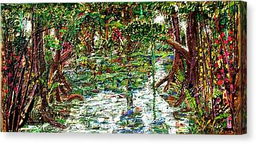 Mangroove Canvas Print by Samuel Miller