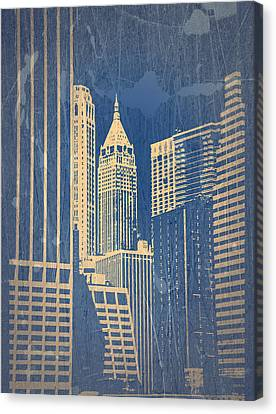 Manhattan 1 Canvas Print by Naxart Studio