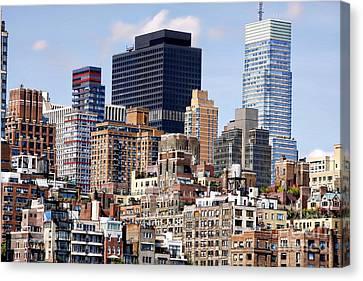 Manhattan Architecture Canvas Print