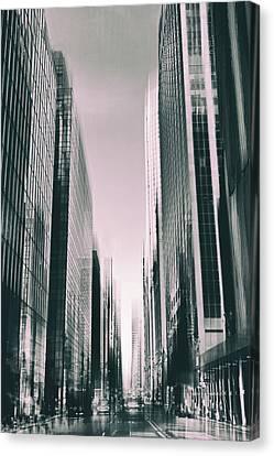 Manhattan Metropolis Canvas Print by Jessica Jenney