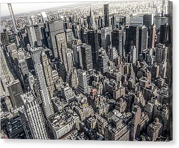Manhattan Canvas Print by Nicklas Gustafsson